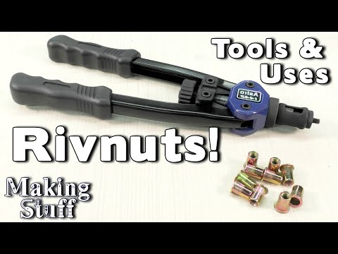 How To Install And Use Rivet Nuts, Rivnuts And Nutserts In Metal And 3D Prints