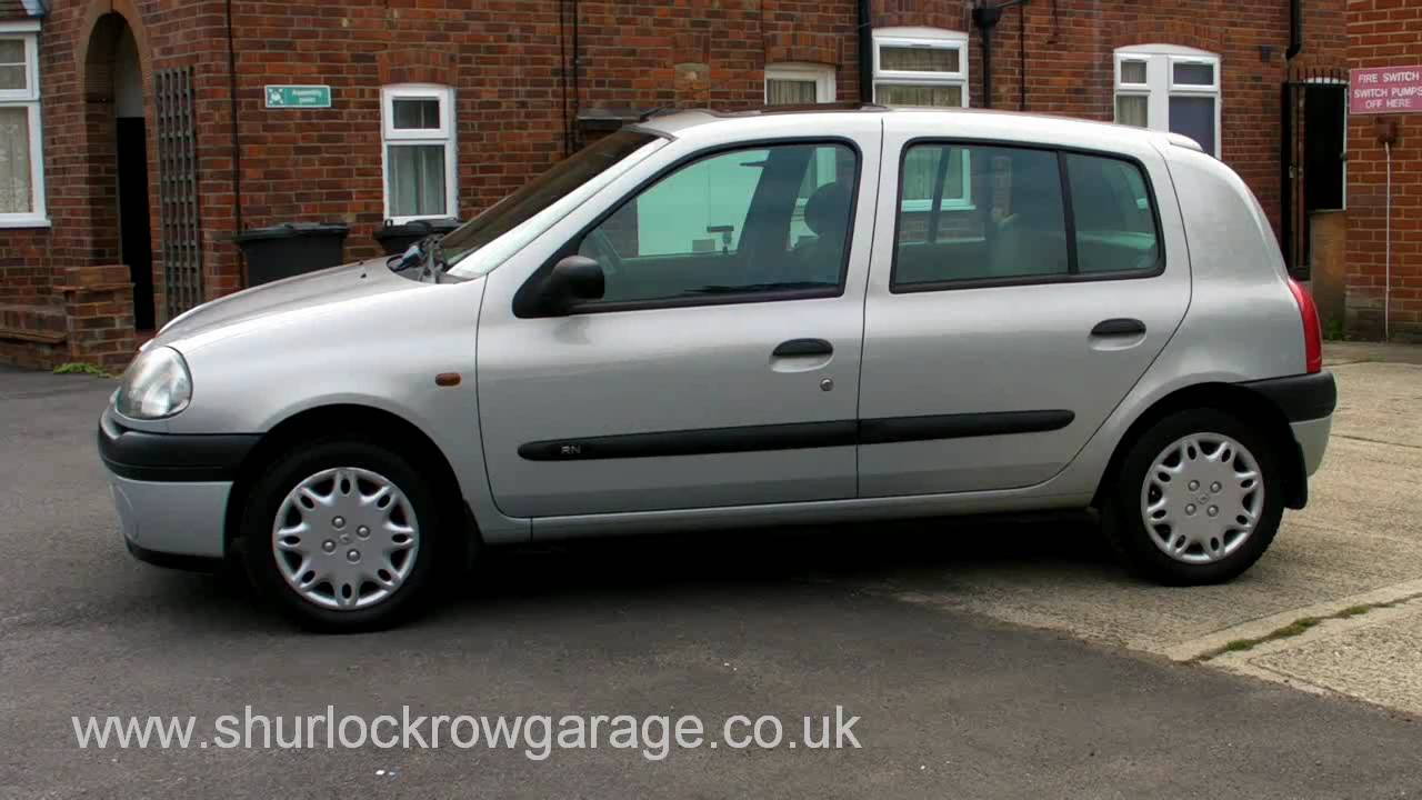 renault clio 1 2 grande 5dr for sale youtube. Black Bedroom Furniture Sets. Home Design Ideas