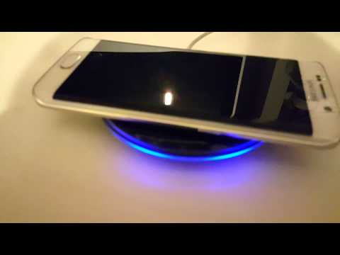 samsung wireless charger unboxing compatible with s6 s7. Black Bedroom Furniture Sets. Home Design Ideas
