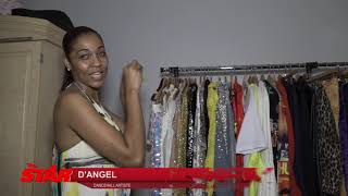 IN THE CLOSET: D'Angel has a love affair with fashion