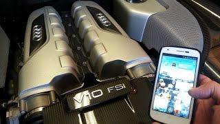 Réglage tension courroie avec un smartphone