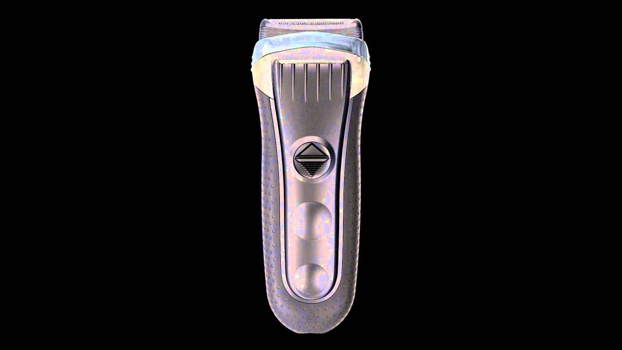 Braun Series 3 3090 tölthető elektromos szitás borotva - YouTube a596101278