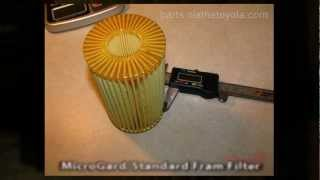 Toyota Tundra Oil Filter Comparison Summary