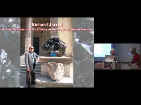 "Elizabeth Griffin :: ""Richard Jarrell: The History of Radio Astronomy in Canada"""