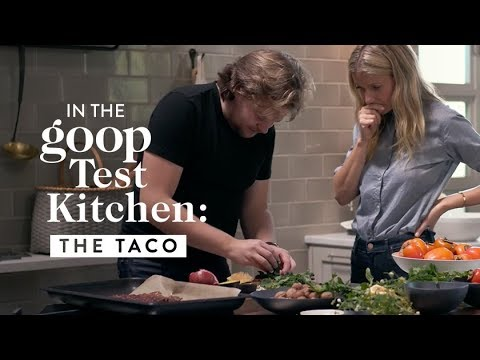 Gwyneth Paltrow Chef Magnus Nilsson Cooking Tacos