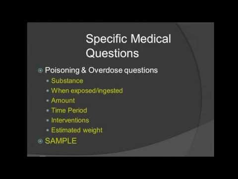Poisoning & Overdose Management for the EMT Lecture
