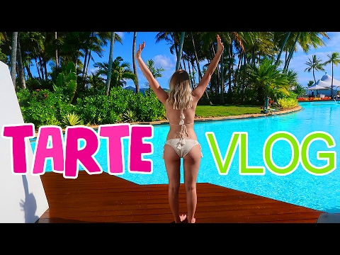 TRIPPIN' WITH TARTE Vlog | Lauren Curtis
