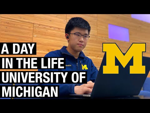A Day In The Life Of A University Of Michigan Student
