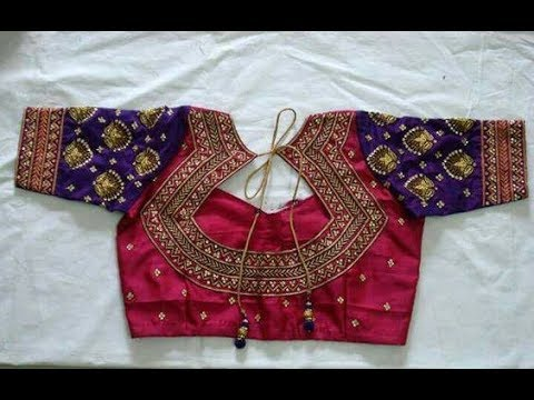 Simple Blouse Back Neck Designs New Sarees With Embroidery Work Blouse Designs