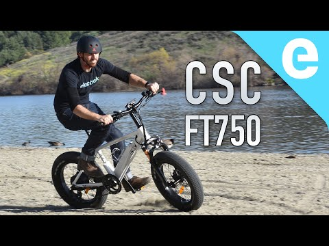 CSC FT750 E-bike Review (e-bikes From A Motorcycle Company)