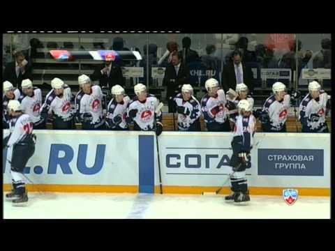 Первый гол Ильи Колганова в КХЛ / Ilya Kolganov scores for the first time in pro-career