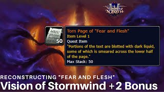 """Horrific Vision of Stormwind: Reconstructing """"Fear and Flesh"""" WoW Quest Guide"""