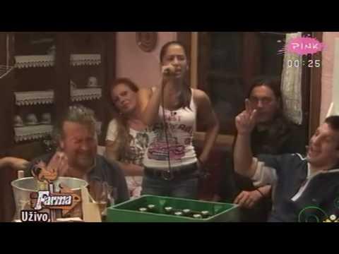 Farma 2 - Karaoke - Milena - 1000 razloga