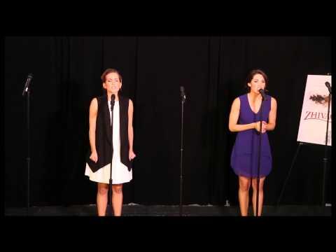 Lora Lee Gayer and Kelli Barrett Sing