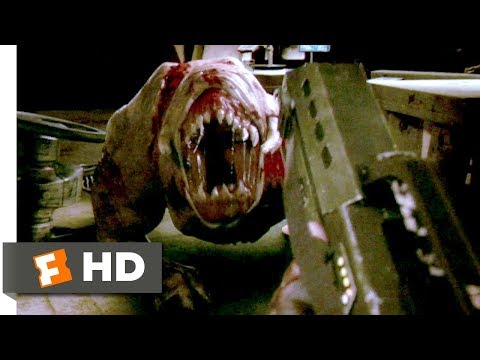 Doom (2005) - First Person Shooting Scene (9/10) | Movieclips