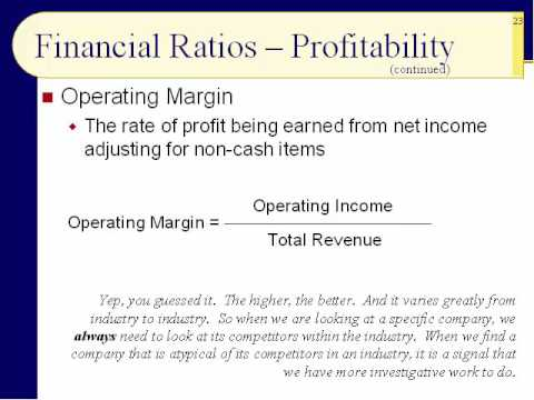 BUS123 Chapter 17 - More Ratio Analysis - Slides 20 to 38 - Fall 2016