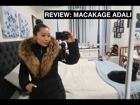 REVIEW: Luxury Winter Jacket Mackage Adali Coat - TRY-ON & HOW I STYLE MY MACKAGE ADALI 2019