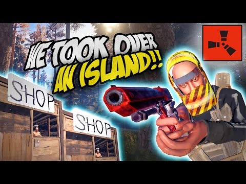 WE TOOK CONTROL OF AN ISLAND! - Rust SOLO / CO-OP Survival Gameplay