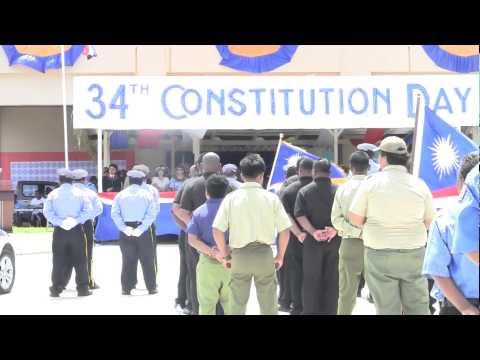 Majuro, Marshall Islands: Constitution Day 2013
