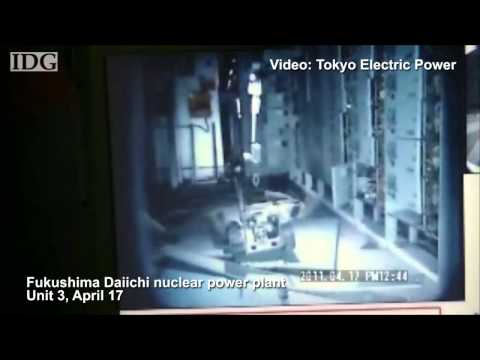 Robots show inside Fukushima reactor buildings