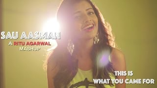 Sau Aasman + This Is What You Came For Mashup Cover By @VoiceOfRitu
