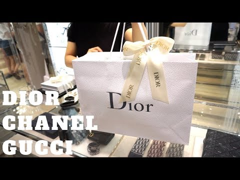 DIOR CHANEL GUCCI + JILLS IS ALL I NEED! | Vlog