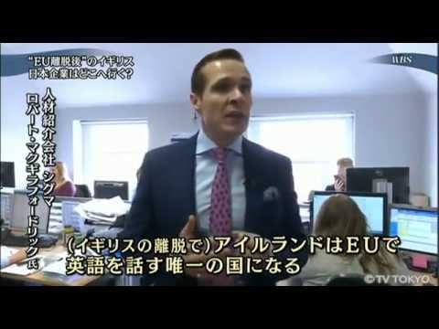 TV Tokyo - Brexit