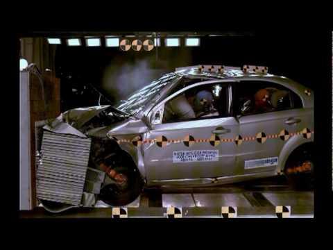 2008 Chevrolet Aveodaewoo Kalos Nhtsa 35 Mph Frontal Offset 40