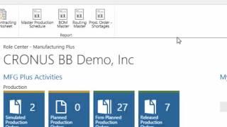 Microsoft Dynamics NAV 2015 - User Experience