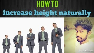 How to increase height naturally? | tamil | | tamil ulagam | | TU |