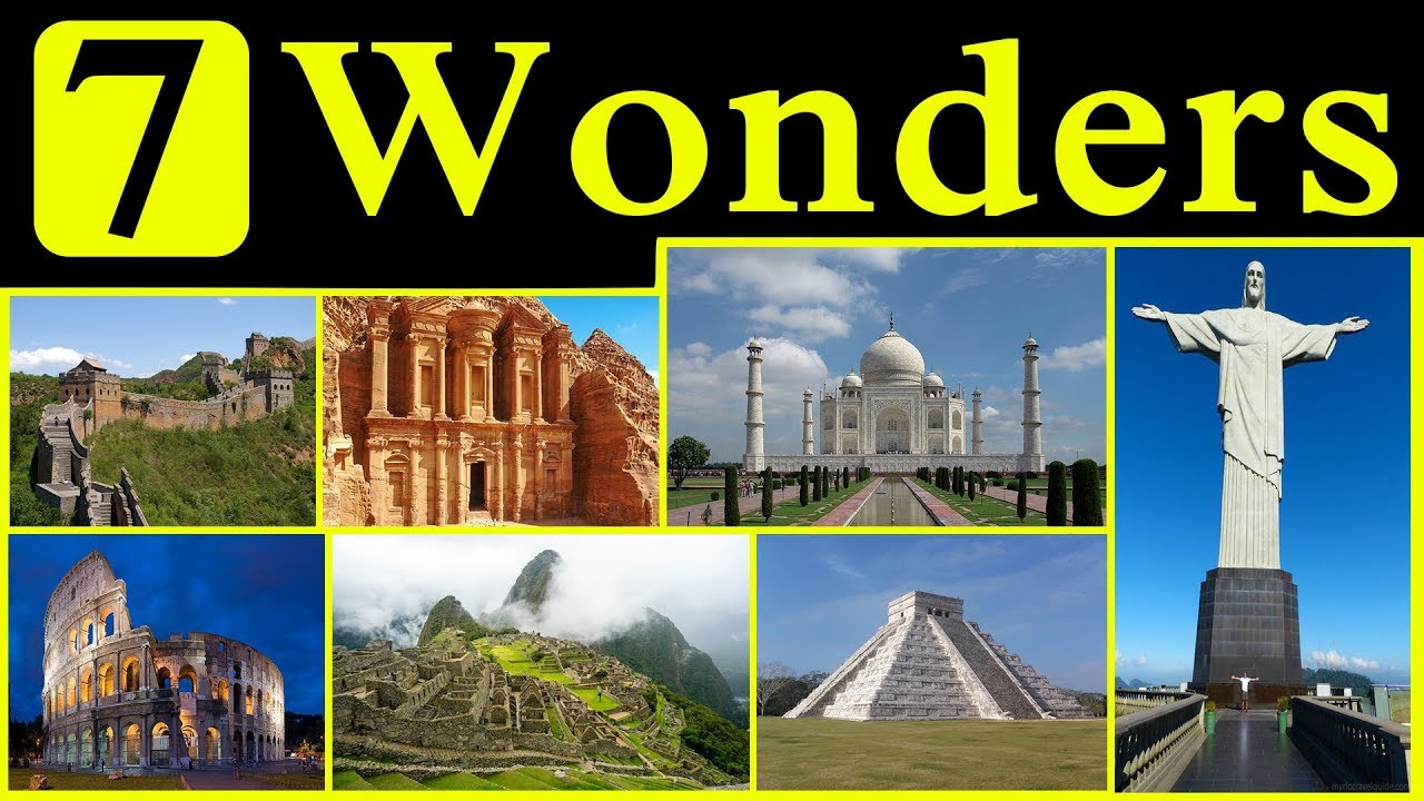 New 7 Wonders of the World: Scam to make millions of profit  |7 Wonders Of The World 2012 With Name