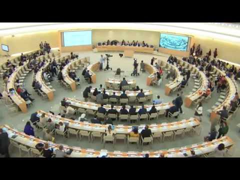 Canciller venezolano Jorge Arreaza en el 39° Período de Sesiones del Consejo de DDHH de la ONU