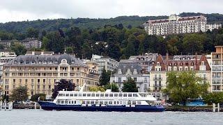 Evian les Bains lac Léman (Haute-Savoie), ville d