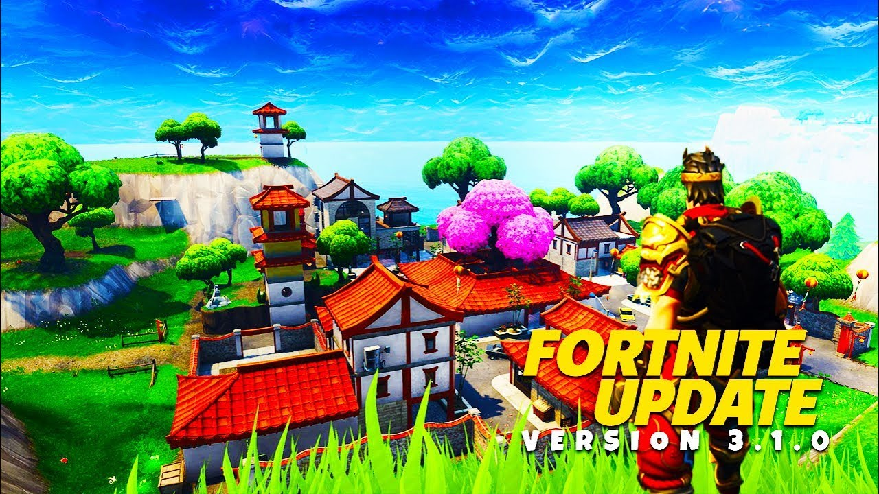 NEW WEAPONS, CHALLENGES, CITY + More! - Fortnite Battle Royale Update 3.1.0 Patch Notes!