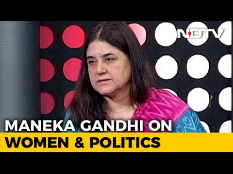 Maneka Gandhi Unplugged: The Full Interview
