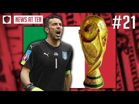ITALY COACH RANT GOES VIRAL AS WORLD CUP PLAY-OFF TENSION MOUNTS  | NEWS AT TEN #21