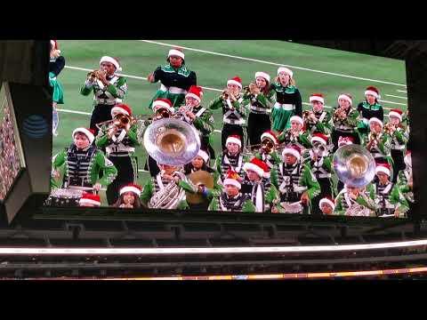 Longview High School Band Marches at AT&T Stadium! Longview vs Tascosa 2018 State Semifinal.