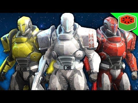POWER RANGERS CHALLENGE!  | Destiny 2 - The Dream Team