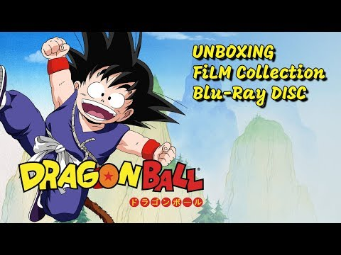 Unboxing - Dragon Ball - Film Collection in Blu-Ray Disc - Esclusiva Amazon