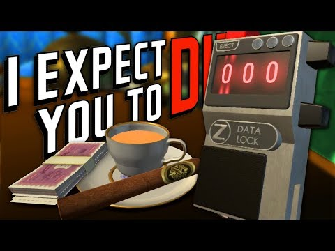 CAN'T HEAR YOU, IM ON VACATION - First Class DLC - I Expect You To Die (VR) #5