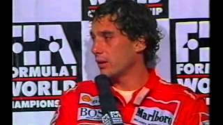 Ayrton Senna - Press Conference Australia 1991