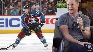 Spittin' Chiclets Interviews NHL Superstar Nathan MacKinnon in Halifax, Nova Scotia
