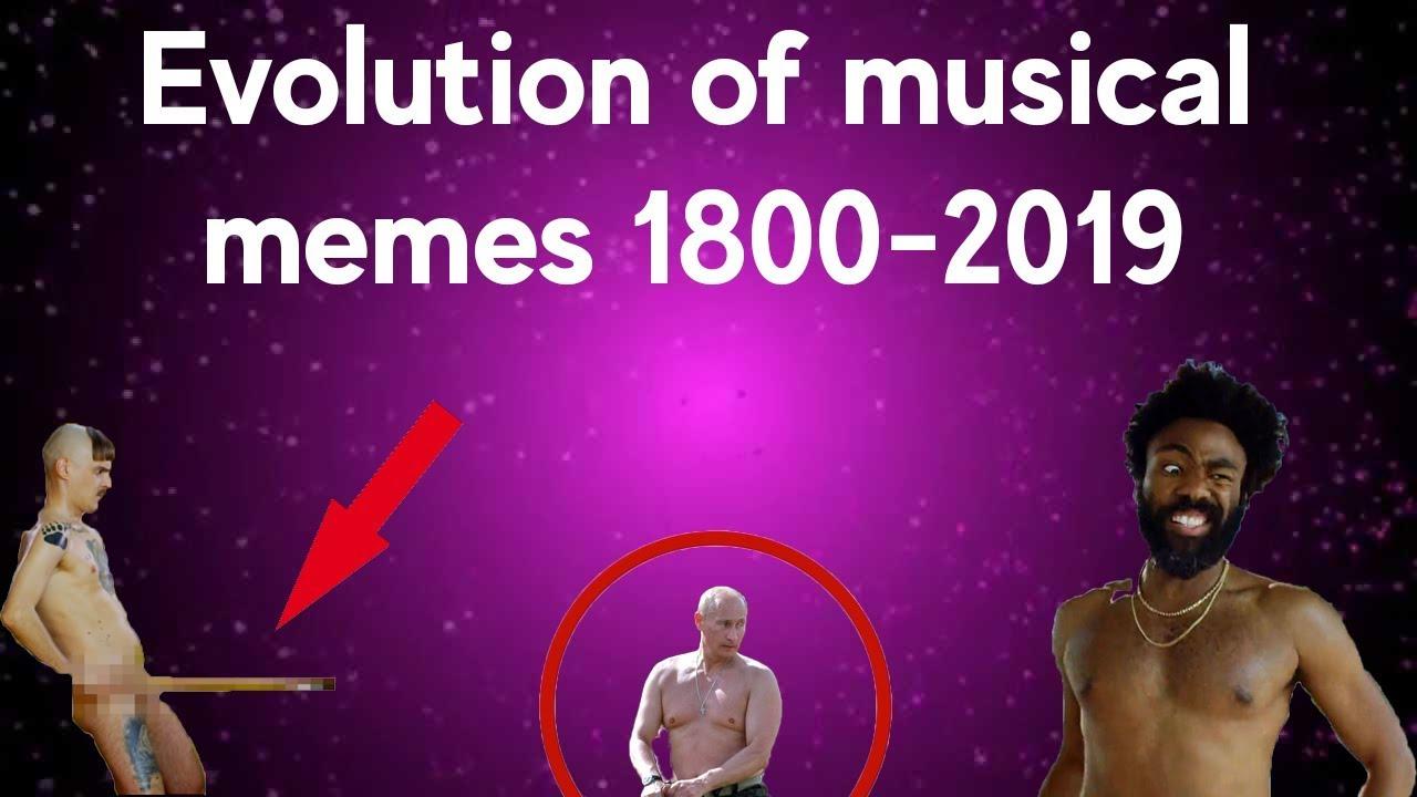 Evolution of musical memes 1800-2019 #1 - YouTube