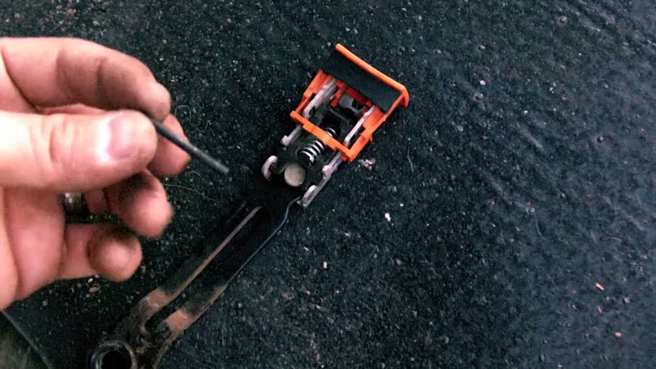 Seat belt buckle repair  YouTube