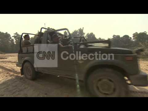 INDIA:HUNT FOR MAN-EATING TIGER