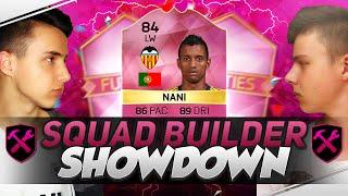 FIFA 16 - FUTTIES NANI SQUAD BUILDER SHOWDOWN w/ SUNZONE