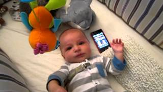 Star Wars Theme Song Calms Crying Baby ORIGINAL