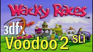 Wacky Races (Infogrames, PC, 2000) - Gameplay 3dfx Voodoo 2 SLI