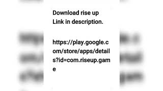 Download rise up 🎈.apk android game