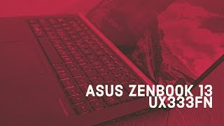 Видеообзор ноутбука ASUS ZenBook 13 UX333FN
